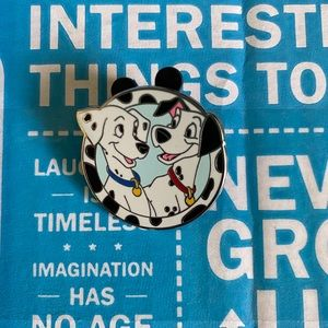 Disney Trading Pin Good Vs Evil Pongo and Perdita